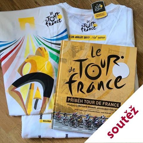 a6ff3ba31445f Soutěžte s námi o knihu Příběh Tour de France a oficiální triko z  limitované edice Tour de France Grand Départ 2017 .