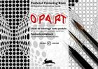 Op Art Postcard Colouring Book
