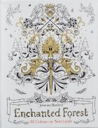 Enchanted Forest: 12 Colour-in Notecards