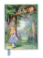 Zápisník John Tenniel: Alice and the Cheshire Cat (Foiled Journal)