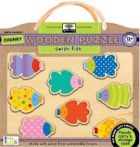 Swish Fish Chunky Wooden Puzzle