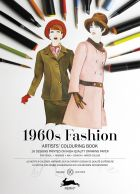 1960 Fashion (Artists Colouring Book)