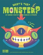 What's That Monster? Create monster faces using colours, doodles & stickers