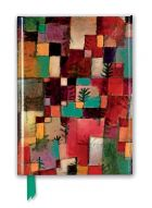 Zápisník Paul Klee: Redgreen and Violet-Yellow Rhythms (Foiled Journal)