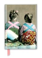 Zápisník Japanese Dancers Wearing Traditional Kimonos (Foiled Journal)