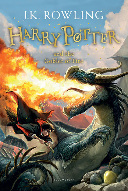 Bloomsbury Publishing Harry Potter and the Goblet of Fire (4)