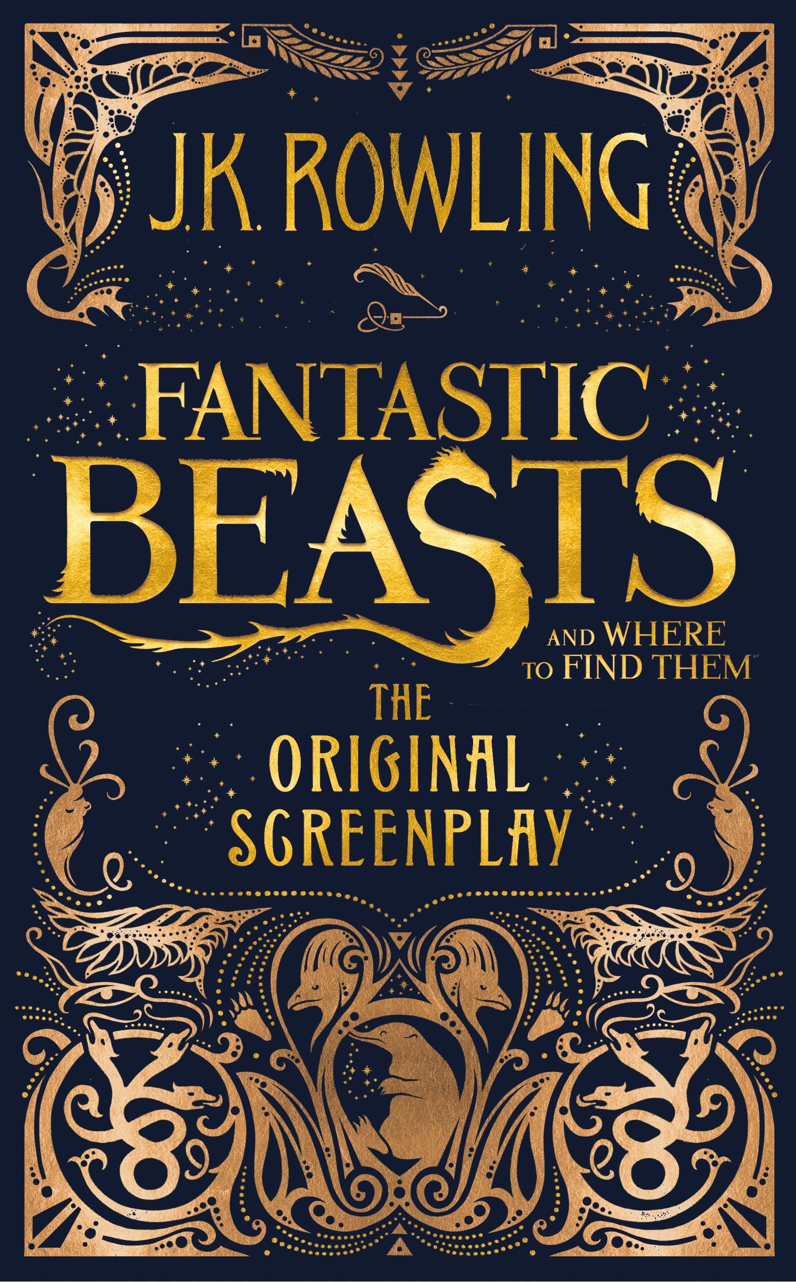 Výsledek obrázku pro fantastic beasts kniha